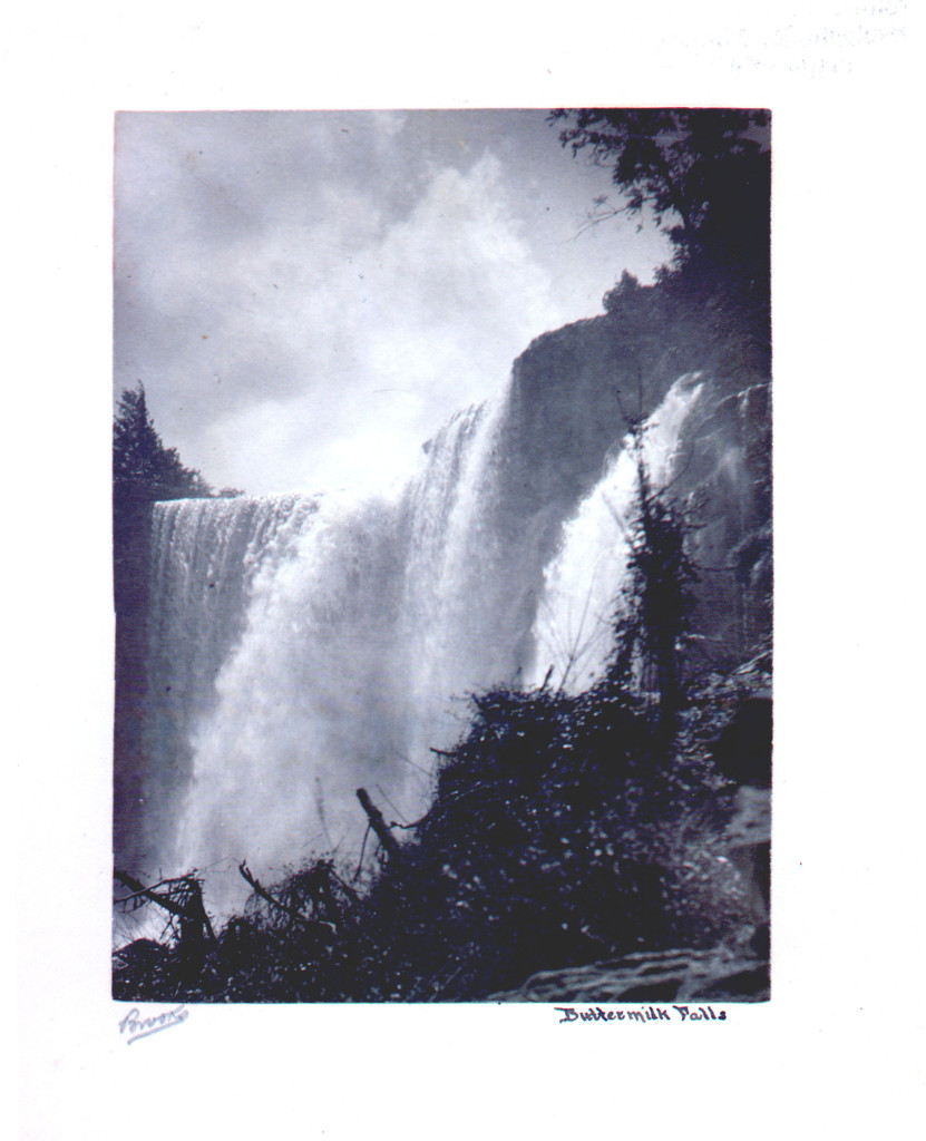 Fig. 1 - Buttermilk Falls