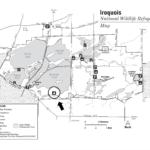 Iroquois Refuge map